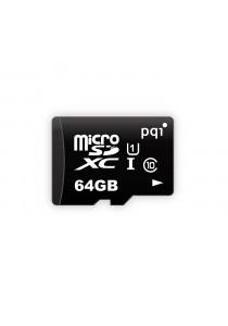 PQI Memory Card Micro Sd UHS-1 Class 10 | 64GB