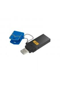 PQI OTG Connect 301 Micro 3.0  32GB Blue