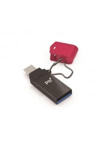 PQI OTG Connect 301 Micro 3.0  16GB Red