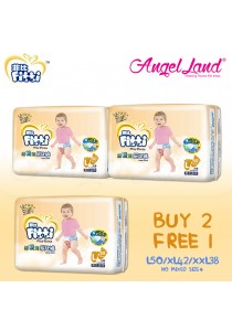 [Buy 2 Free 1] Fitti Gold PlayPants Jumbo (3packs) L50