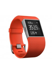 Fitbit Surge Wireless Activity + Sleep Tracker Wristband (Large Size) - Tangerine