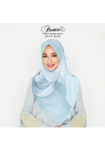 Hijab&Me - CAKENIS Fume (Bayu Blue)