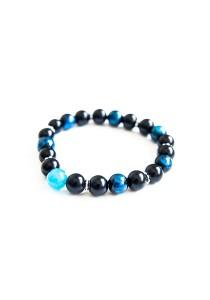 Feeling Blue Handmade Unisex Bracelet (Blue)