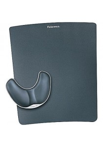 Fellowes Palm Support Plus w/mouse Pad (Black)