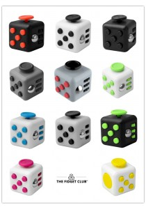 (Original) New Fidget Cube Stress Reliever Magic Cube