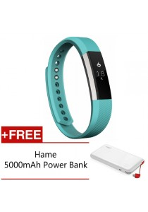 Fitbit Alta Fitness Tracker - (Teal Large) FREE Hame 5,000mAh Power Bank