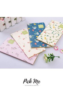 FLOWER GARDEN Craft Paper Notebook