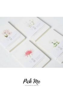 Flower Series Notebook (4 Designs)