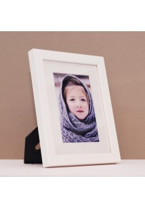 Fotable White - Table Top Photo Frame