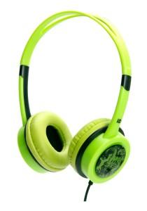 iDance FREE 10 Lightweight DJ Headphone with Mic (Green)