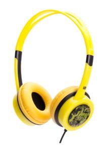 iDance FREE 30 Lightweight DJ Headphone with Mic (Yellow)