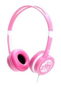 iDance FREE 40 Lightweight DJ Headphone with Mic (Pink)