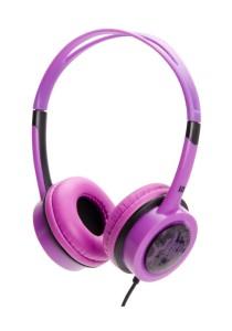 iDance FREE 50 Lightweight DJ Headphone with Mic  (Purple)