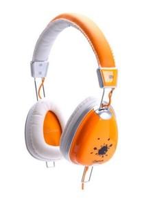 iDance FUNKY 300 DJ Headphone with Mic (Orange)