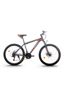 """Garion G2620-BC 26"""" Mountain Bike with 21 Speed (Matte Red)"""
