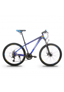 """Garion G275116-BC 27.5"""" / 650b Alloy Mountain Bike with 27 Speed (Matte Blue)"""