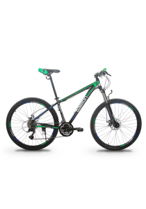 "Garion G275116-BC 27.5"" / 650b Alloy Mountain Bike with 27 Speed (Matte Green)"