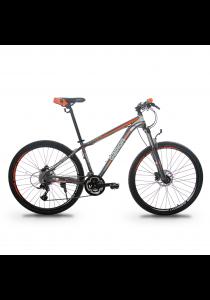 "Garion G275117-BC 27.5"" / 650b Alloy Hydraulic Mountain Bike with 27 Speed (Matte Orange)"