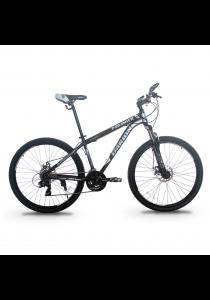"Garion G275118-BC 27.5"" / 650b Mountain Bike MTB with 24 Speed (Matte Grey)"
