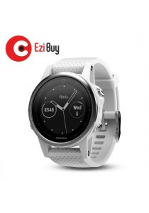 Garmin Fenix 5s Multisport GPS Watch - Carrara White