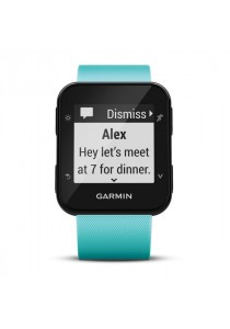Garmin Forerunner 35 GPS Running Watch with Wrist-based Heart Rate - Frost Blue