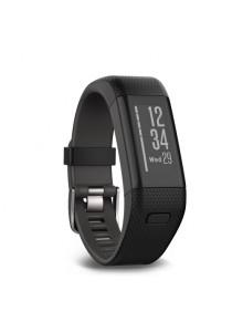 Garmin Vivosmart HR + GPS Activity Tracker with Wrist-Based Heart Rate Monitor - BLACK