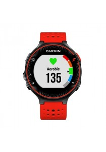 Garmin Forerunner 235 GPS Running Watch with Wrist-Based Heart Rate - Red / Black