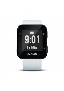Garmin Forerunner 35 GPS Running Watch with Wrist-based Heart Rate - White