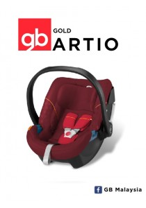 gb ARTIO (Dragonfire Red) - Top Level Infant Car Seat (gb Malaysia Official)