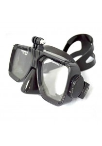 GoPro for Swimming, Scuba Dive, Snorkeling Mask Mount (Black)