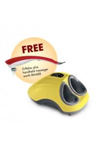 GINTELL G-Beetle Foot Massager + G-Relax Plus Handheld Massager [GT230+GT019]