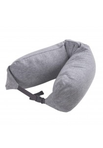 MUJI Well-Fitted Neck Cushion Gray