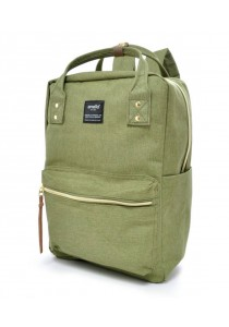 100 % Authentic Anello Square Backpack - Green
