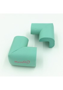 Myoshin Safety Table Corner Edge Protect Cushion (1 set 10 pieces) - 023 (Green)