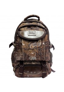 Haitop HB1302-C Military Printed Outdoor Backpack (Brown)