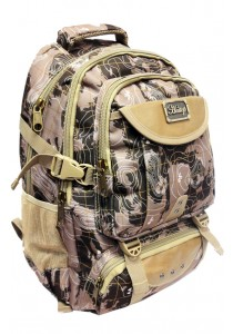 Haitop HB1302-E Military Printed Outdoor Backpack (Beige)