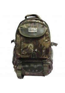 Haitop HB1302-J Military Printed Outdoor Backpack (Green)