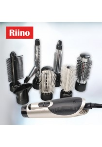 RiiNO [7 in 1] Multifunction Hair Styling Sets Hair Dryer Hair Curler