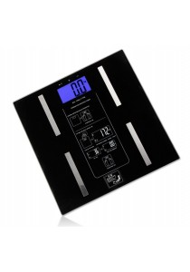 Alpha Living Body Composition Analyser Scale - Black (HEA0035BK)