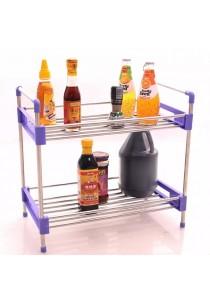 Alpha Living 2-Tier Multi functional Kitchen Shelf  (HGN0038VT)