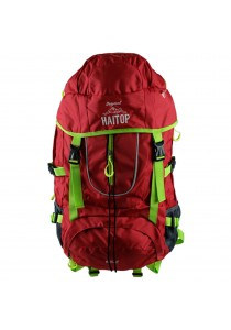 Haitop 65L HH9616 Hiking Backpack - Red