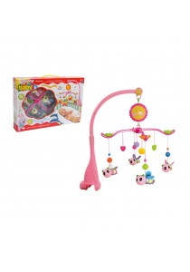 Baby Cot Musical Mobile Baby Toys (Bee)