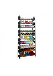10 Tier 30 - Pair Stackable Shoe Rack
