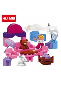 Hui Mei HM063-1 Fantasy Fairland Educational Building Blocks (117pcs)