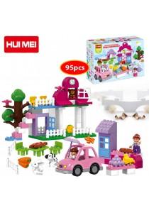 Hui Mei HM065-1 Happy Supermarket Educational Building Bricks (95pcs)