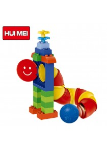 Hui Mei HM132-1 My Funny Tube Game Educational Building Bricks (138pcs)