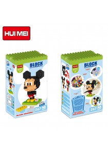 Hui Mei HM190-1 Mickey Mouse DIY Building Blocks Classical (267pcs)