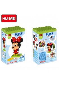 Hui Mei HM191-1 Minnie Mouse DIY Building Blocks Classical (307pcs)