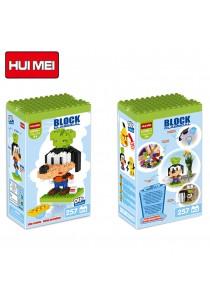 Hui Mei HM195-1 Goffy DIY Building Blocks Classical (257pcs)