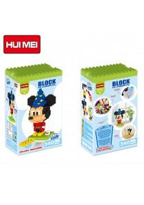 Hui Mei HM199-1 Magic Mickey Mouse DIY Building Blocks Classical (340pcs)